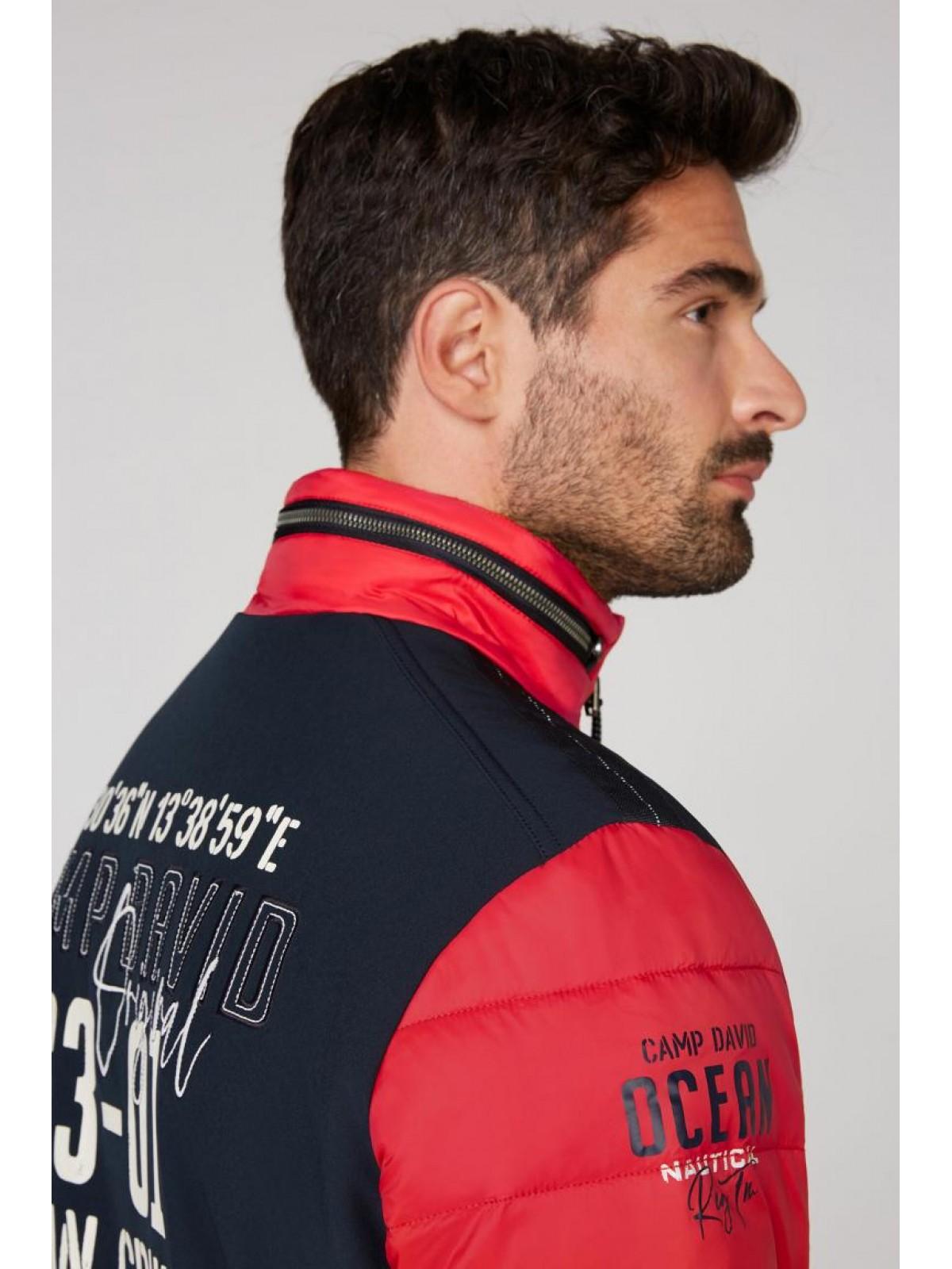 Куртка мужская Camp David 2055 2282 red