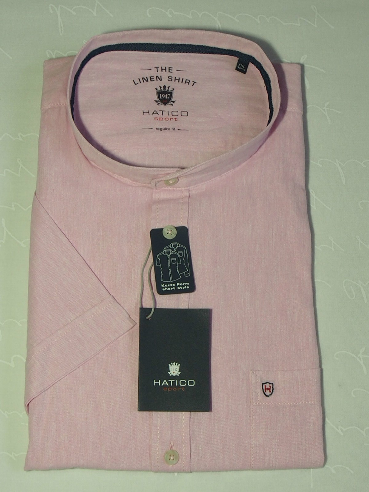 Мужская рубашка Hatico 3415-42601-341