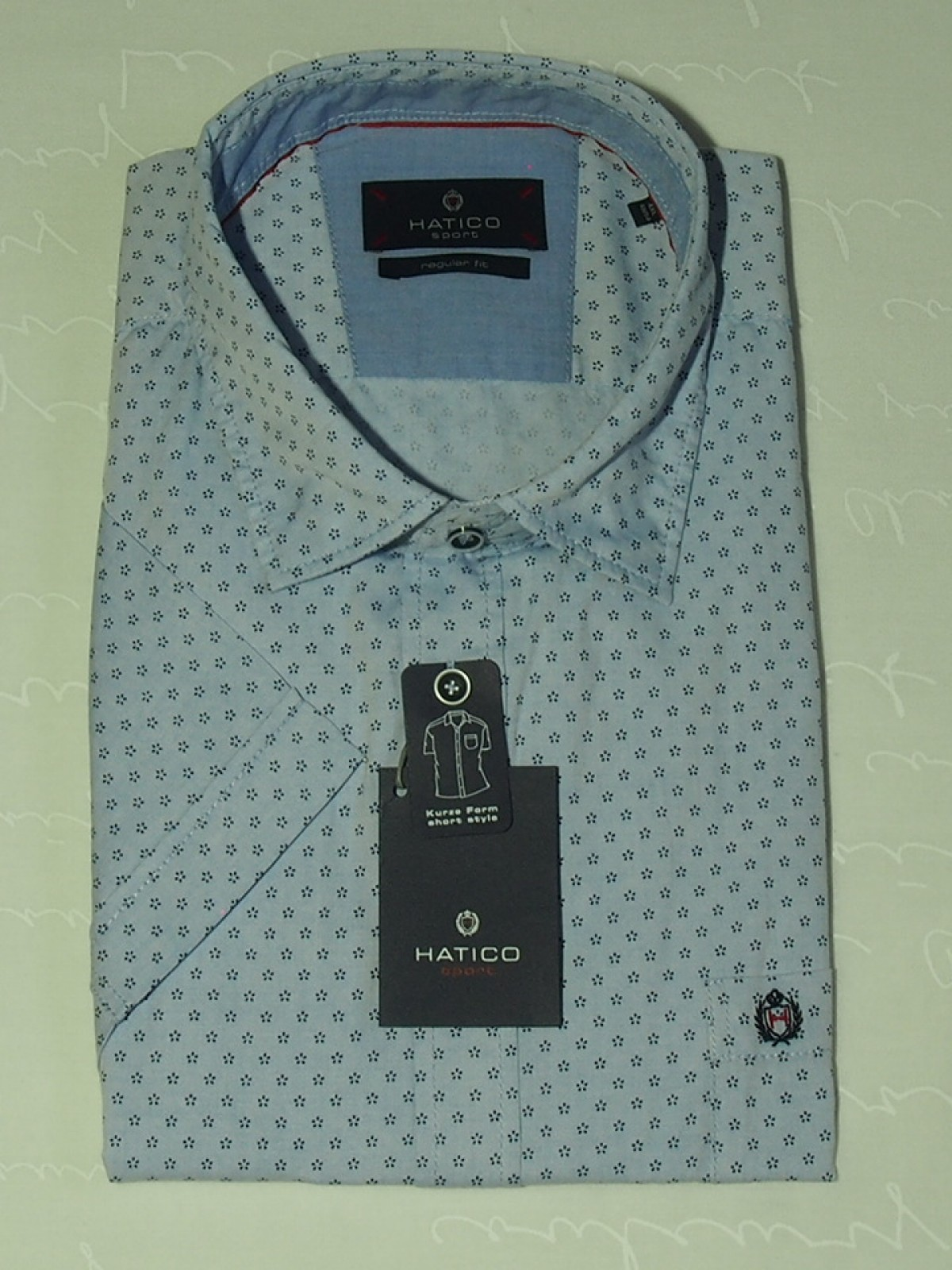 Мужская рубашка Hatico 50029 42106 170