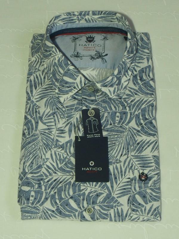 Мужская рубашка Hatico 50047 62128 173