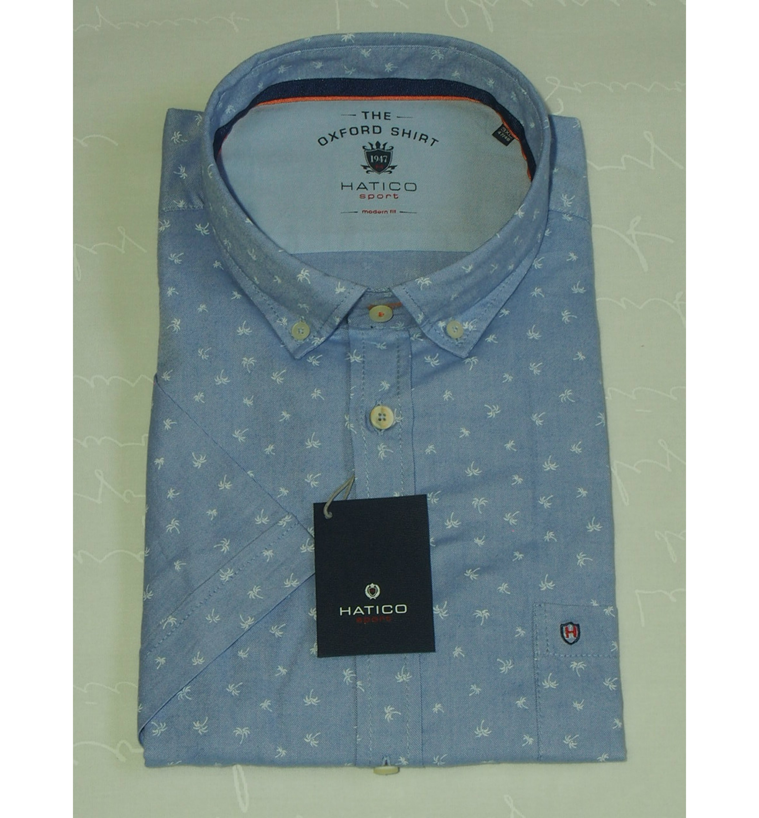 Мужская рубашка Hatico 70012 72212 170