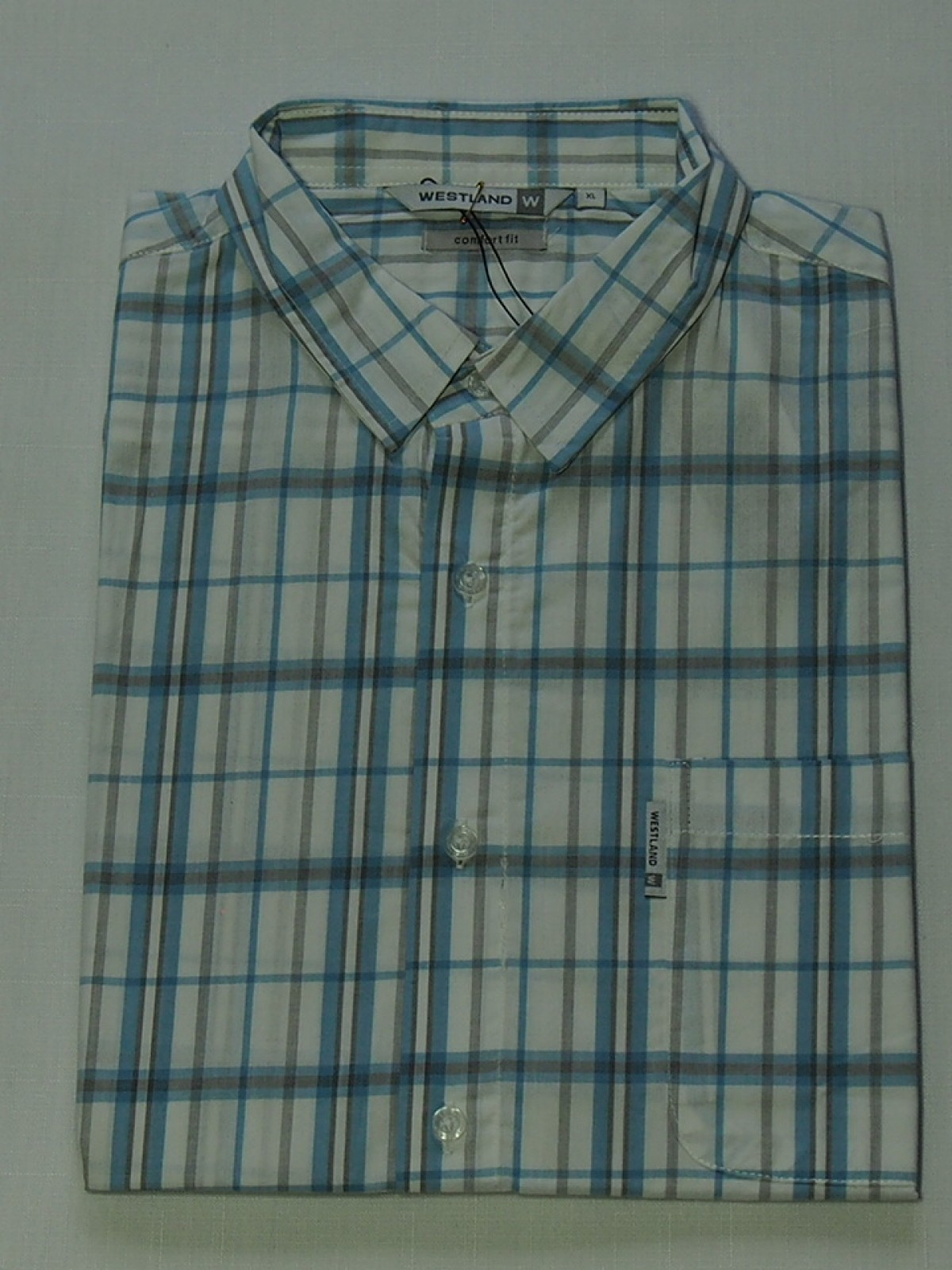 Мужская рубашка Westland Light Blue 1023