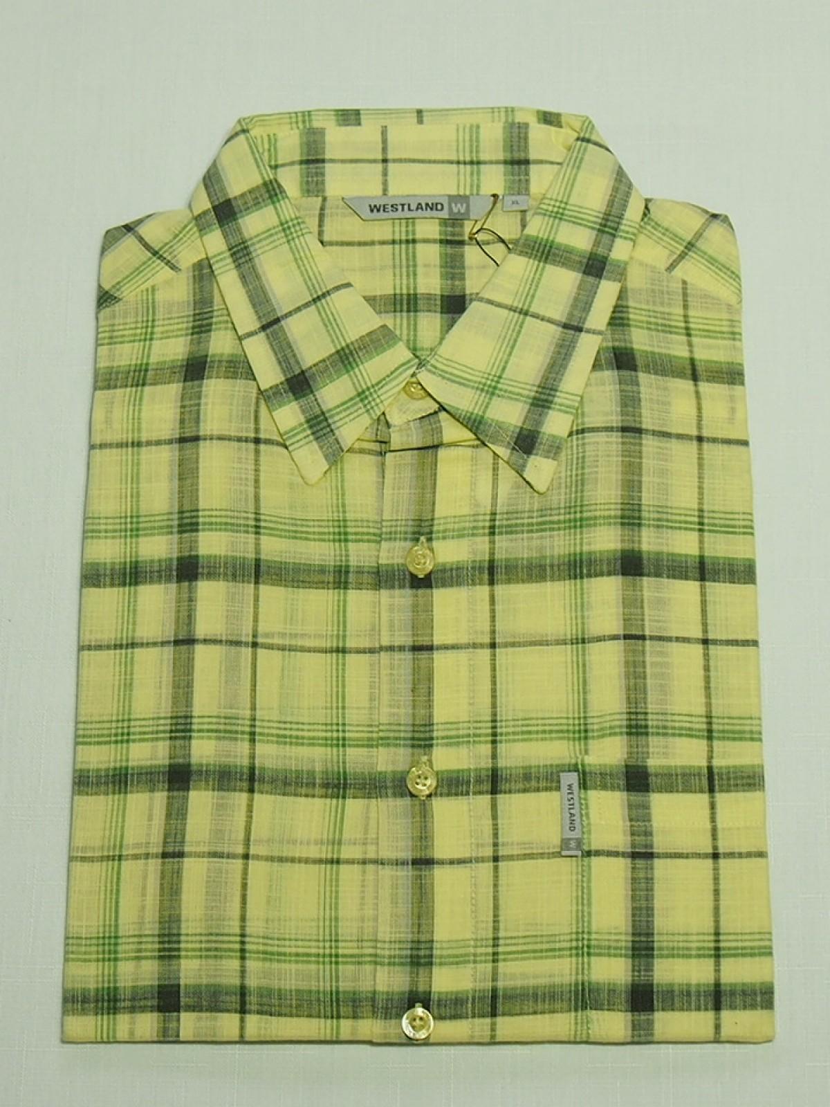 Мужская рубашка Westland Neon Lime 1023
