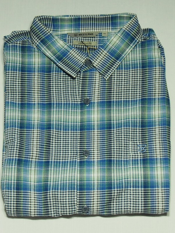 Мужская рубашка Westland Smalt 1023